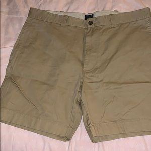 J crew men's khaki shorts